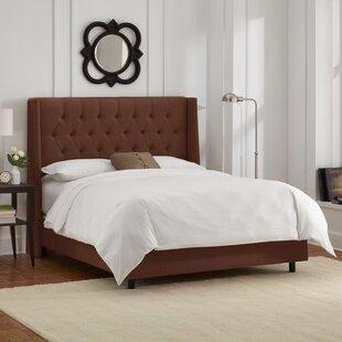 Acamar Upholstered Panel Bed b..