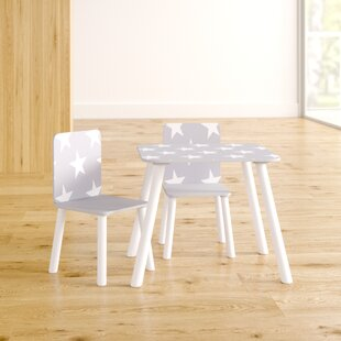 Crow Children's 3 Piece Writing Table And Chair Set By Isabelle & Max