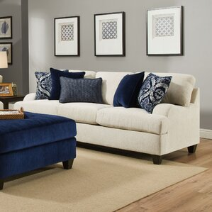 Three Posts Simmons Upholstery Hattiesburg Stone Sofa Image