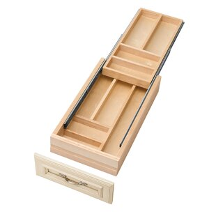 Rev-A-Shelf Small Double Tiered Cutlery Drawer