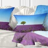 Lavender Lumbar Pillow Wayfair
