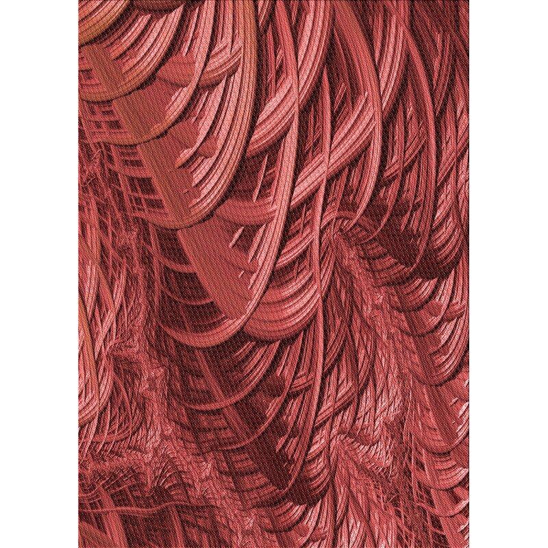 East Urban Home Abstract Wool Red Area Rug Wayfair