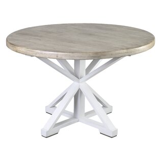 Stringer Two Tone Solid Wood Dining Table