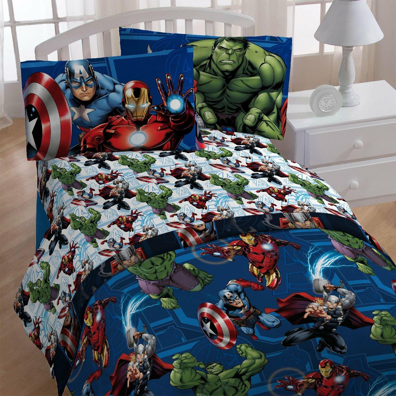 Marvel Avengers 4 Piece Twin Comforter Set Wayfair