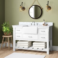 Farmhouse Rustic 48 Inches Bathroom Vanities Birch Lane