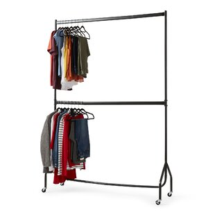 Two Tier Heavy Duty Clothes Rack By Wayfair Basics