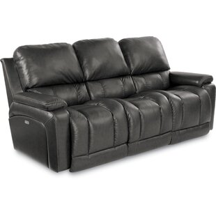 Greyson Leather Reclining Sofa by La-Z-Boy