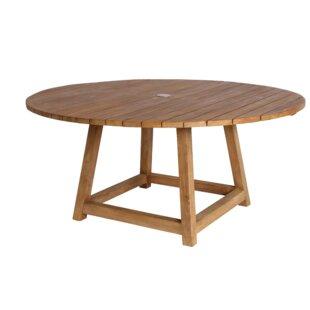 Loon Peak Strange Teak Dining Table