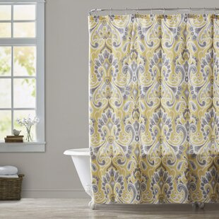 Daoudiate Single Shower Curtain by Bungalow Rose Sale