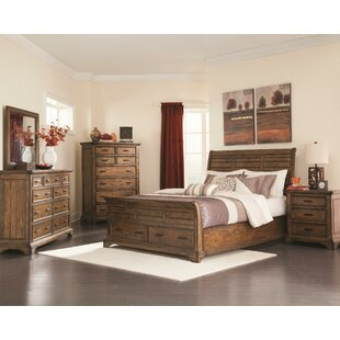 Pinole City California King Sleigh Configurable Bedroom Set by Loon Peak