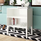 Ghost Tray Top End Table with Storage by Kartell