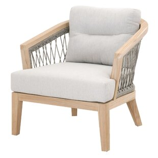 Bungalow Rose Minarets Patio Chair with C..