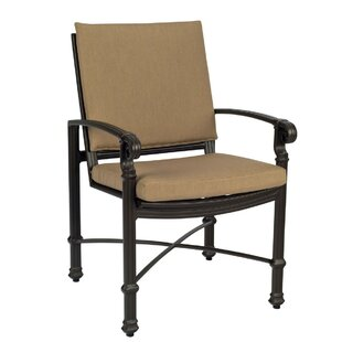 Spartan Patio Dining Chair With Optional Cushion