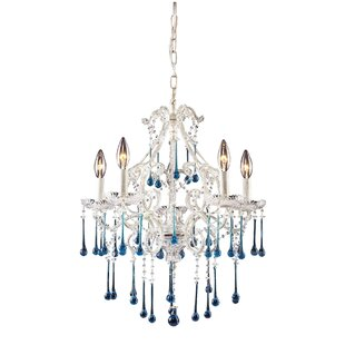 Driffield Traditional 5-Light Candle Style Chandelier by Rosdorf Park