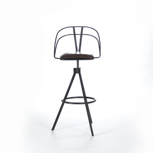 Nathan Adjustable Height Bar Stool Zentique