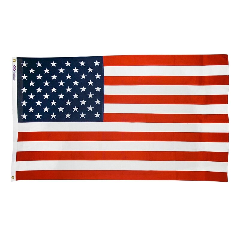 Annin Flagmakers Reliance American Traditional 2 Sided Cotton 36 X 60 In House Flag Reviews Wayfair