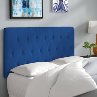 Rich Queen Upholstered Panel Headboard by Wade Logan