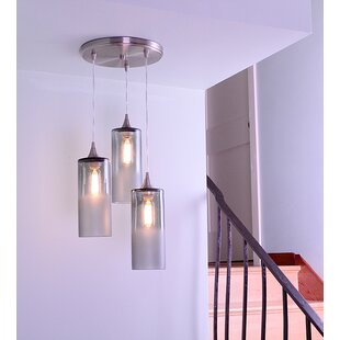 Bicycle Glass Co. 3-Light Pendant