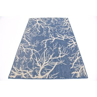 Andover Blue Indoor/Outdoor Area Rug