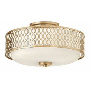 Jules 3-Light Semi Flush Mount by Hinkley Lighting