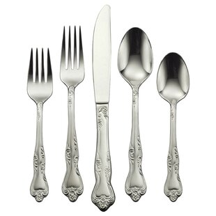 Azalea 20 Piece Flatware Set, Service for 4