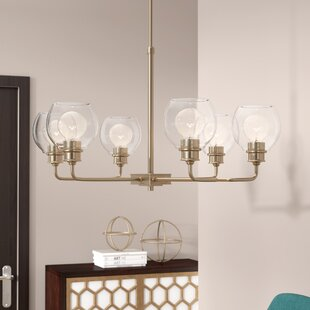 Langley Street Maria 6-Light Shaded Chandelier