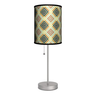 Lamp-In-A-Box Decor Art Diamonds and Lines 20