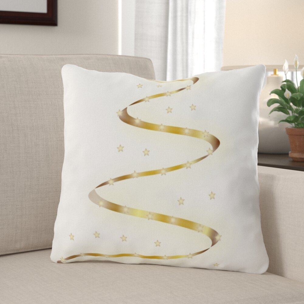 The Holiday Aisle Ridder Christmas Indoor Outdoor Canvas Throw Pillow