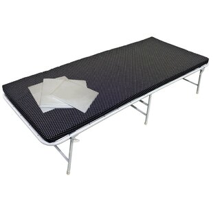 iBed™ Folding Bed and Mattress with Sheet Set by CORNER HOUSEWARES