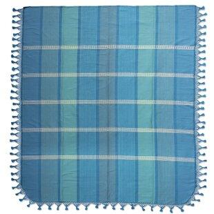 Millwood Pines Weare Morning Handmade Cotton Twin Bedspread