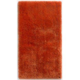 Soft Tufted Orange Rug by Tom Tailor
