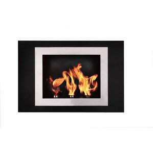 Fiorenzo Wall Mount Ethanol Fireplace by BioFlame