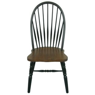 Fininghouse Bow Back Solid Wood Dining Chair