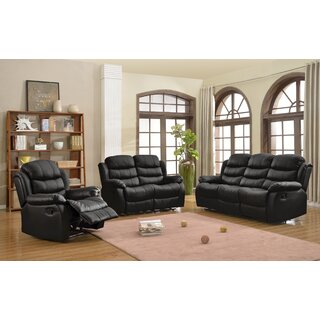 Akiko 3 Piece Reclining Living Room Set by Ebern Designs SKU:CB292206 Details
