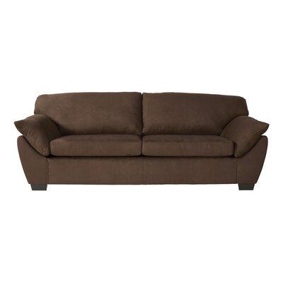 Wood Frame Sofa With Cushions Wayfair