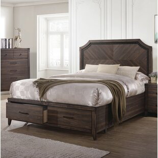 Shop for Parkside Storage Panel Bed by Gracie Oaks Reviews (2019) & Buyer's Guide