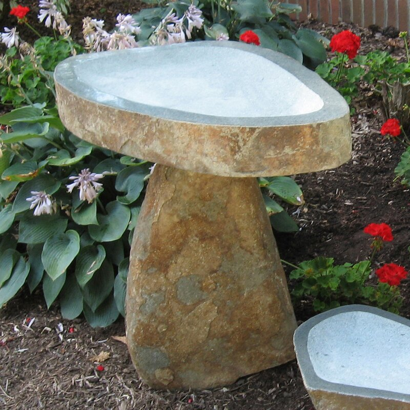 Stone Age Creations Granite Birdbath   Item# 10941