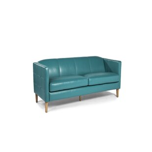 Miami Leather Loveseat