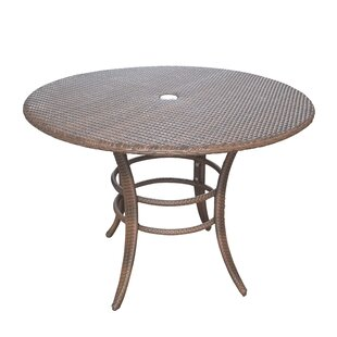 Key Biscayne Wicker/Rattan Dining Table