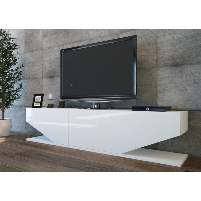 Blue Elephant Agarita Tv Stand For Tvs Up To 78 Reviews Wayfair Co Uk