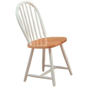 Bazan Modish Solid Wood Dining Chair (Set of 4) August Grove