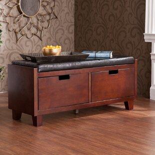Dartford Wood/Upholstered Storage Bench