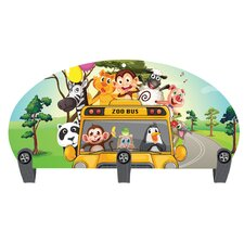 Zoo Bus 3 Hook Coat Rack by Next Innovations