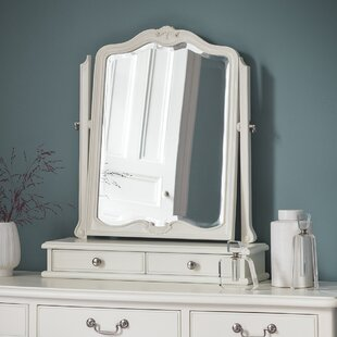 Cecilia Arched Dressing Table Mirror By Lily Manor
