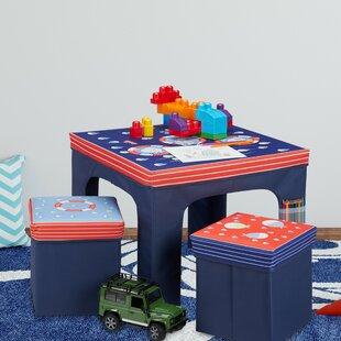 Tarcienne 3 Piece Children's Dining Set By Zoomie Kids