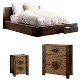 Bushman Platform Configurable Bedroom Set by Union Rustic