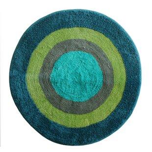 Round Bathroom Rugs | Wayfair