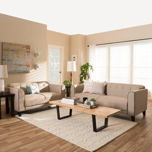 Summerhill 2 Piece Living Room Set by Alcott Hill