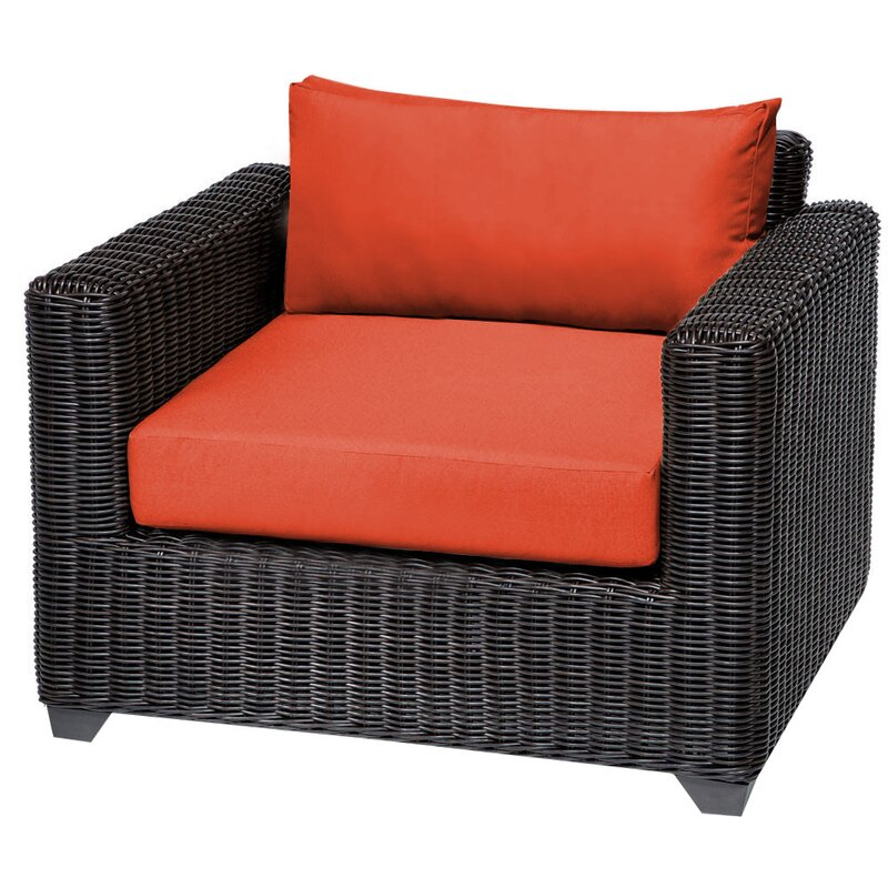 Sol 72 Outdoor  Fairfield Patio Chair with Cushions