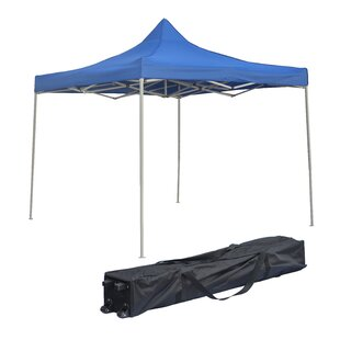 Trademark Innovations 12 Ft. W x 12 Ft. D Steel Pop-Up Canopy